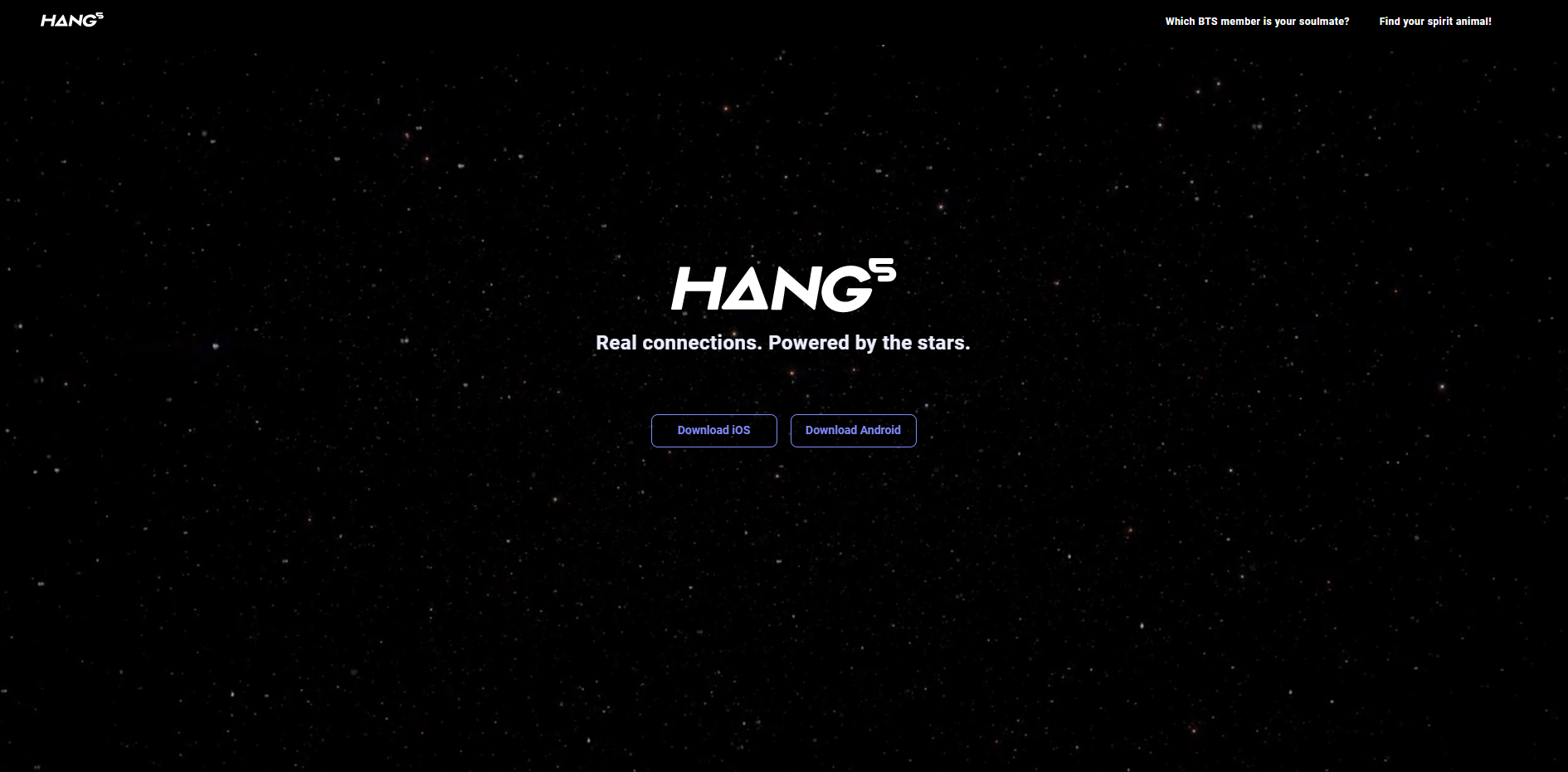 HANG5: Real connections. Powered by the stars._0