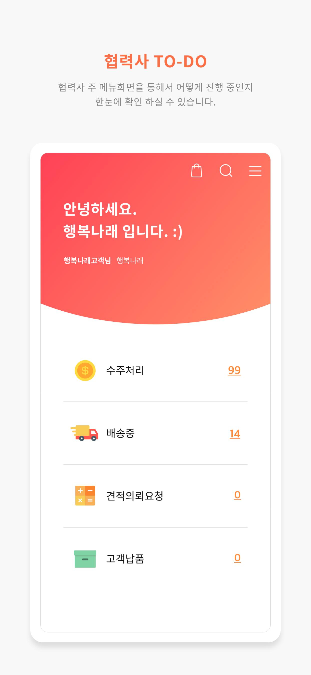 행복나래 HAVIS 모바일 시스템 구축 개발 업무_3